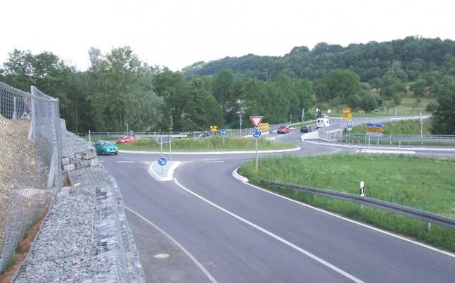 Kreisverkehr Steinheim