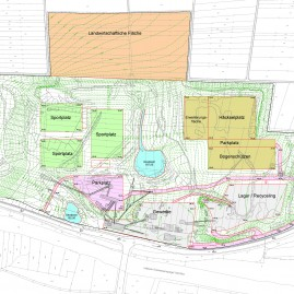 Geländemodellierung Steinbruch Fink Bietigheim-Bissingen