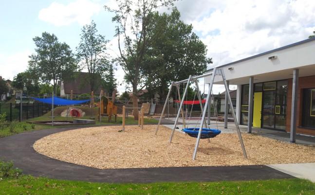 Außenanlagen Regenbogenkindergarten Pleidelsheim