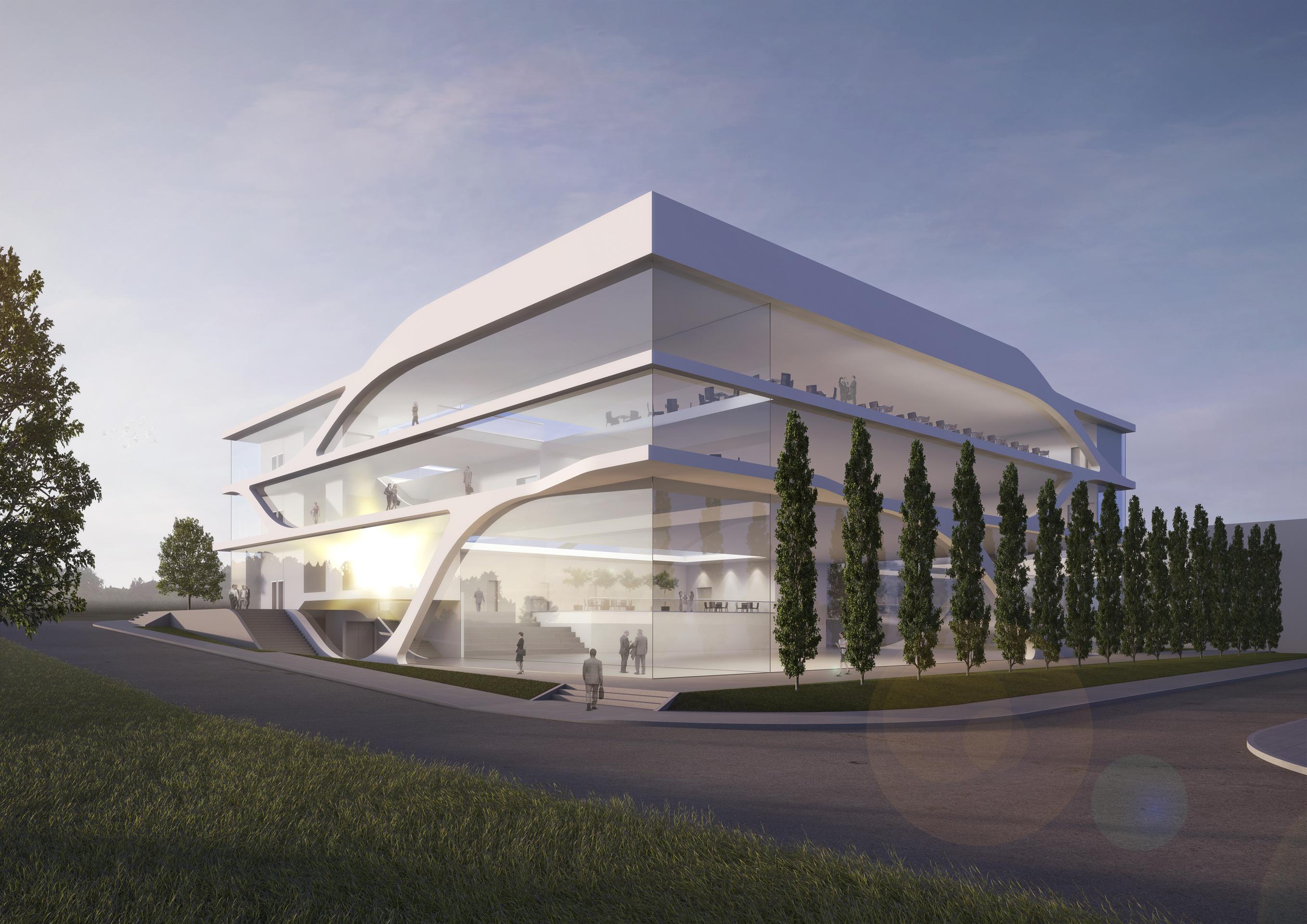 Neubau eines Kundenzentrums – KMB PLAN | WERK | STADT | GMBH